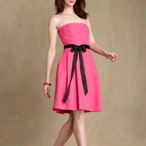 Tommy Hilfiger Strapless Mini Dress Pink M 10